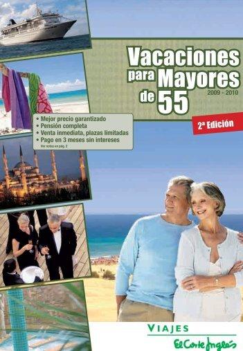 Vacaciones Mayores - Viajes El Corte Inglés