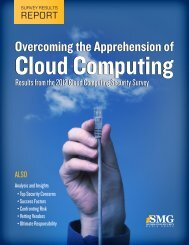 Overcoming the Apprehension of Cloud Computing - Federal News ...