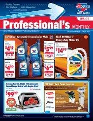 Professional's Monthly - CARQUEST Auto Parts