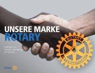 Leitfaden zur visuellen Gestaltung für Rotarier