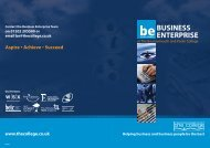 Business Enterprise brochure - The Bournemouth & Poole College