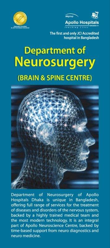 Neurosurgery Department - Apollo Hospitals Dhaka