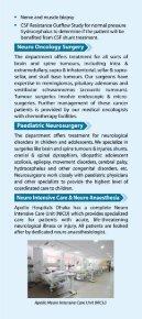 Neurosurgery Department - Apollo Hospitals Dhaka - Page 6