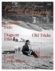 Winter 2012 Issue 13 - Coastal Canine Magazine