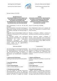Bekanntmachung einer Markterhebung für die Ermittlung von ...