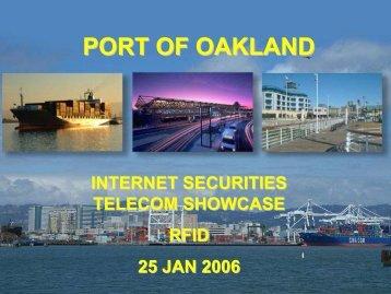 PORT OF OAKLAND - Internet Securities