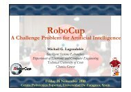 RoboCup 2010 - Intelligent Systems Laboratory