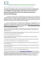 Decreto remitido por la Fiscalía de Santiago de ... - Pladesemapesga