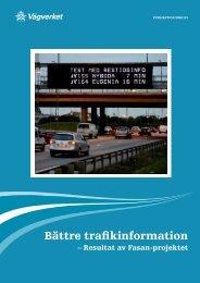 Bättre trafikinformation - Movea Trafikkonsult AB