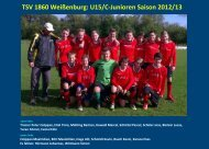 TSV 1860 Weißenburg - jfgwittelsbacherland.de