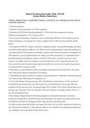 Referat fra bestyrelsesmøde i DGS, 31 - fra DSGH