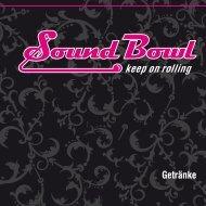 Getränkekarte - bei Sound Bowl