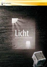 Download WSH Lichtdesign Flyer - Wir sind heller
