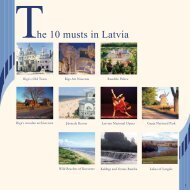The 10 musts in Latvia