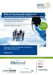 BVZL-LV-Zweitmarkt-Gipfel 2011 Internationale Zweitmärkte für ...
