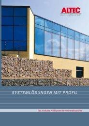 systemlösungen mit profil - ALTEC Solartechnik