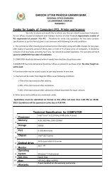 tender notice for supply & installation of pc, printer, scanner
