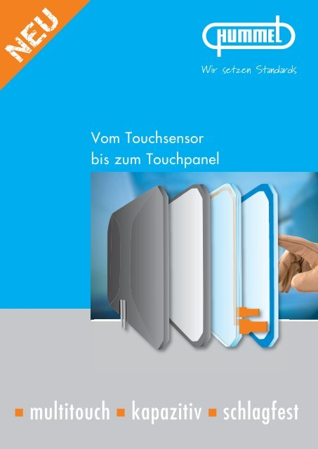 Touchsensoren – Touchpanels  - Hummel AG