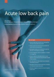 Acute Low Back Pain - June 09 - Bpac.org.nz