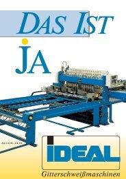 Gitterschweißmaschinen - IDEAL-Werk C. + E. Jungeblodt GmbH + ...