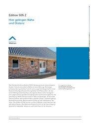 Hier gelingen Nähe und Distanz Edition 505 Z - Viebrockhaus