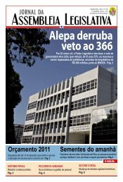 alepa derruba veto ao 366 - Assembléia Legislativa do Estado do ...