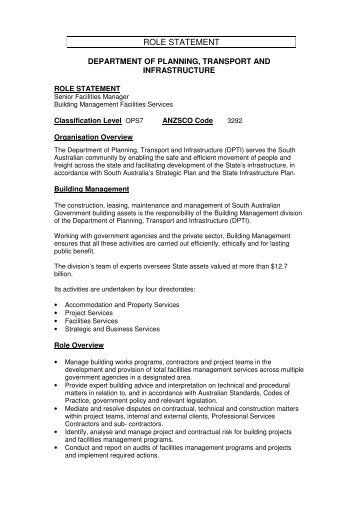 Role statement template for vacancies role statement vacancies pronofoot35fo Image collections