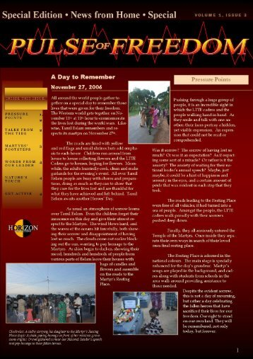 Special Edition - News from Home ' Special - Tamil Nation & Beyond