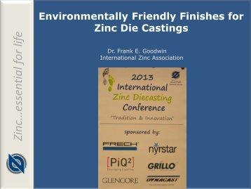 12 Goodwin F Surface Finishing - International Zinc Association