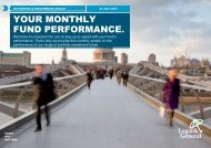IPS Portfolio Investments Performance - July 2013 - Legal & General