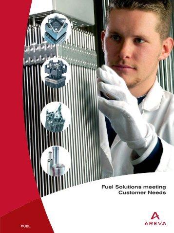 Fuel Solutions meeting Customer Needs - AREVA