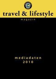 mediadaten 2010 - Travel & Lifestyle