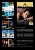 mediadaten 2010 - Travel & Lifestyle - Page 2