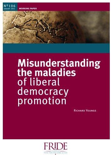 """Working Paper FRIDE (Misunderstanding the maladies of ... - Hivos"
