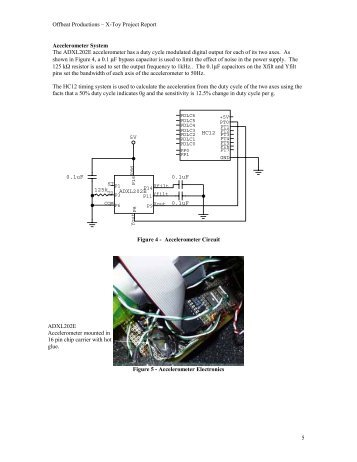 Offbeat Productions – X-Toy Project Report 5 Accelerometer System ...