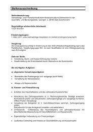 Stellenausschreibung - Kinderschutzbund Ammerland
