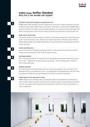 DORMA Hüppe Variflex Standard - Swathi Engineering