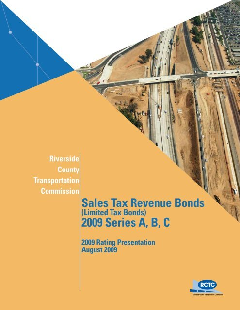 Sales Tax Revenue Bonds 2009 Series A, B, C - Riverside