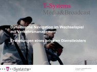 T-Systems Media&Broadcast - invent-online