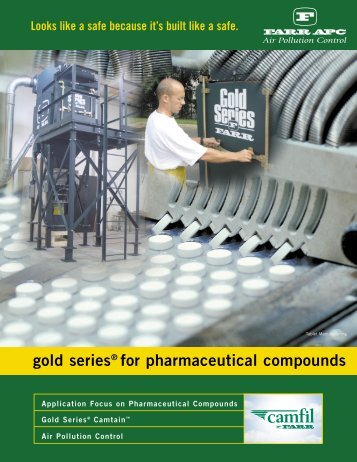 gold series® for pharmaceutical compounds - Used Dust Collector ...