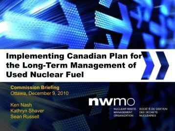 here - Nuclear Waste Management Organization
