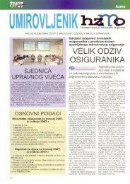 'Umirovljenik', broj 24/2007. - Hrvatski zavod za mirovinsko osiguranje