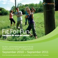 September 2010 - September 2011 - Jugendnetzwerk Konz