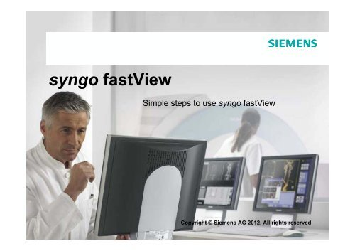 syngo fastview инструкция на русском