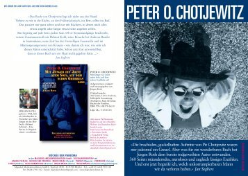 Chotjewitz Flyer - digitalakrobaten.de