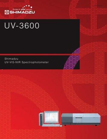 UV-3600 - UPC