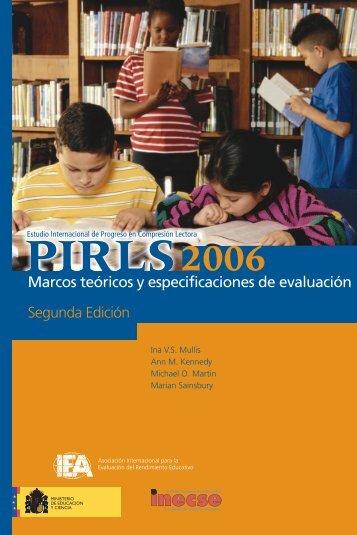 Marcos teóricos y especificaciones de evaluación Segunda Edición ...