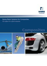 Supply Program: Epoxy Resin Systems for Composites