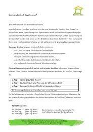 Seminarziele - Sentinel Haus-Blog - Sentinel Haus Institut
