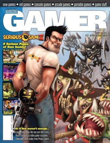Volume 1 Issue 3 August 2005 Serious Sam II - Hardcore Gamer